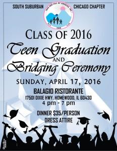 Grad & Bridging Ceremony INVITE